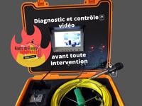 Diagnostic de votre conduit grâce à la vidéo